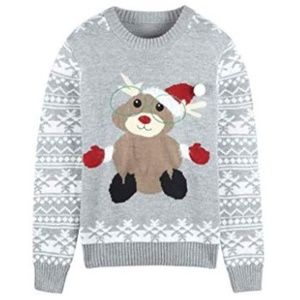 Sweaters - Thick Ugly Xmas Christmas Pullover Knit Sweater
